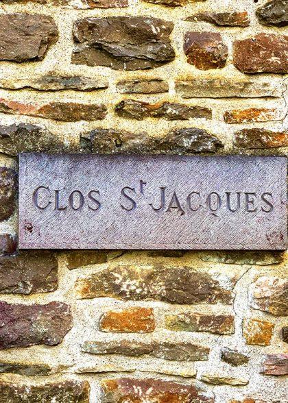 clos saint jacques wall
